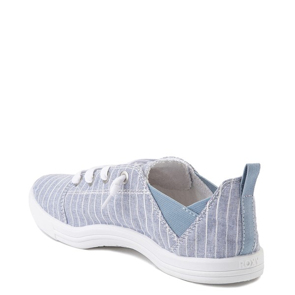 alternate view Womens Roxy Libbie Slip On Casual Shoe - BlueALT2