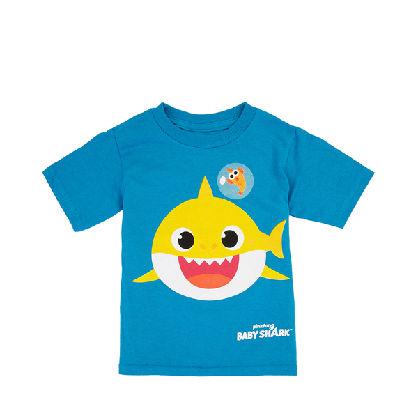 Main view of Baby Shark Tee - Toddler - Blue