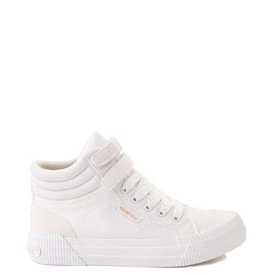 Main view of Womens Rocket Dog Chance High-Top Sneaker - White Monochrome