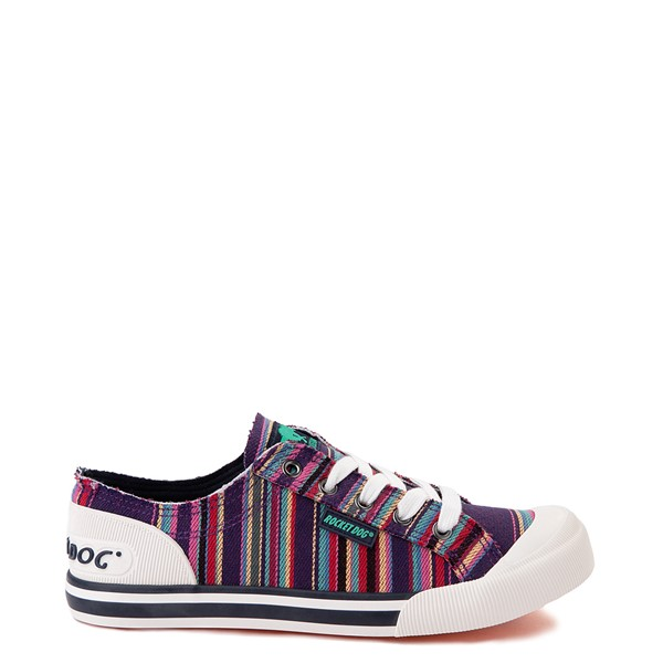 Womens Rocket Dog Jazzin Casual Shoe - Purple / Multicolor