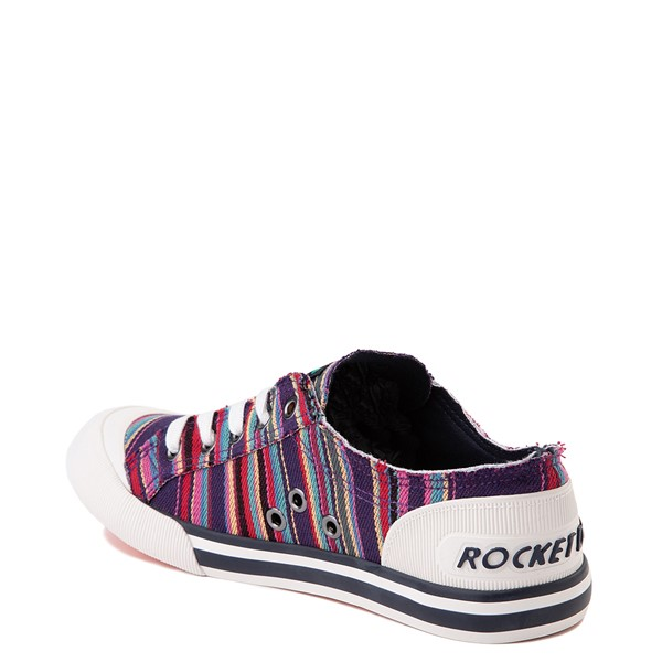alternate view Womens Rocket Dog Jazzin Casual Shoe - Purple / MultiALT1