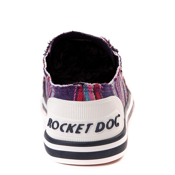 alternate view Womens Rocket Dog Jazzin Casual Shoe - Purple / MultiALT4