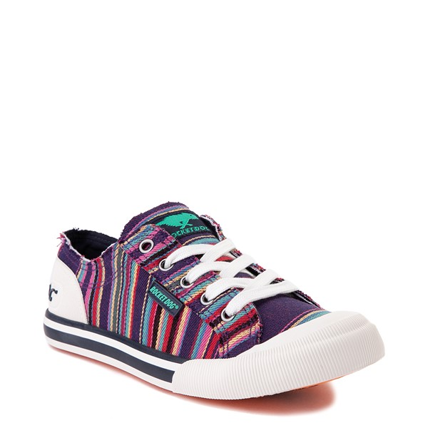alternate view Womens Rocket Dog Jazzin Casual Shoe - Purple / MultiALT5