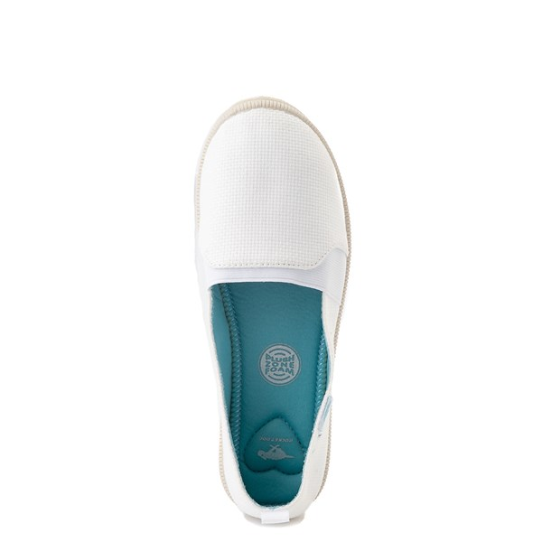 alternate view Womens Rocket Dog Misa Slip On Casual Shoe - WhiteALT4B