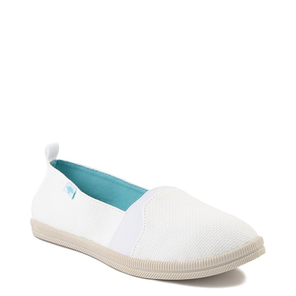 alternate view Womens Rocket Dog Misa Slip On Casual Shoe - WhiteALT5