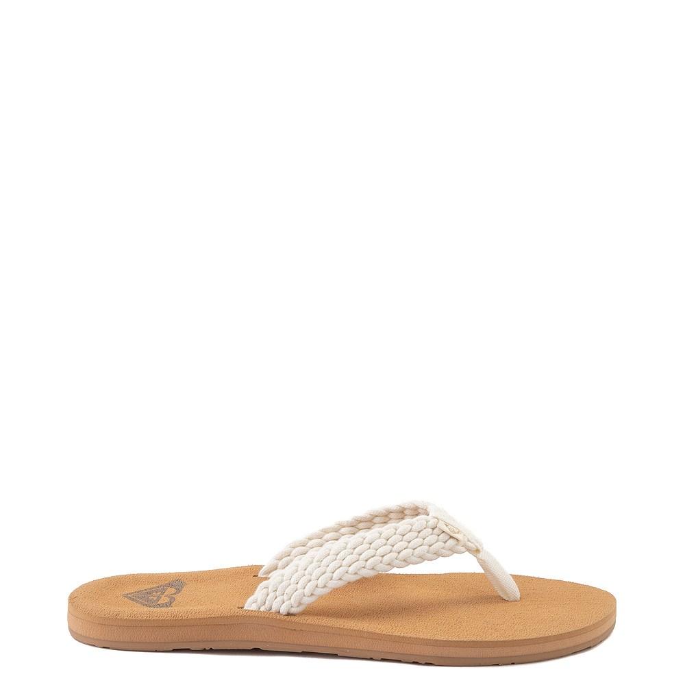 Womens Roxy Porto Sandal - White