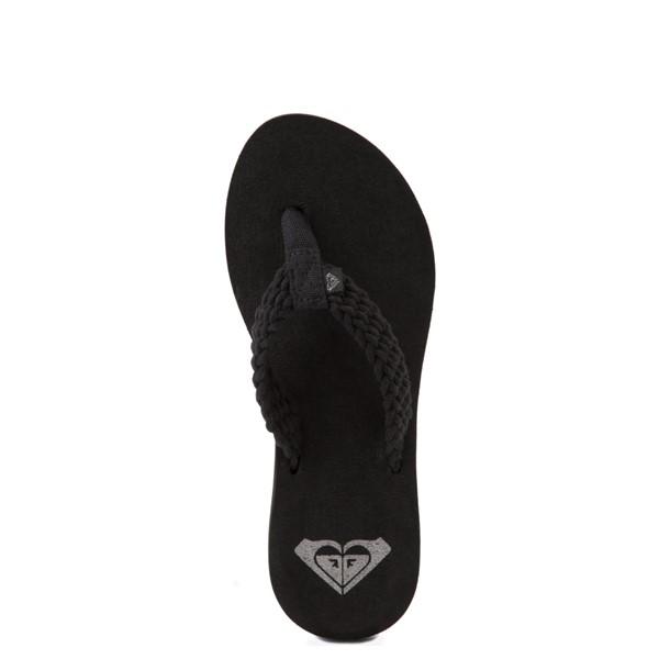 alternate view Womens Roxy Porto Sandal - BlackALT4B