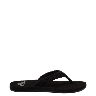 Main view of Womens Roxy Porto Sandal - Black