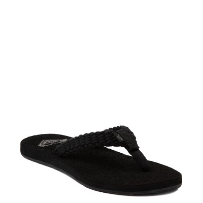 Alternate view of Womens Roxy Porto Sandal - Black