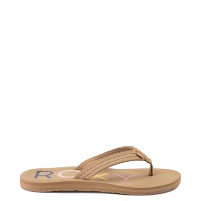 Main view of Womens Roxy Vista Sandal - Tan