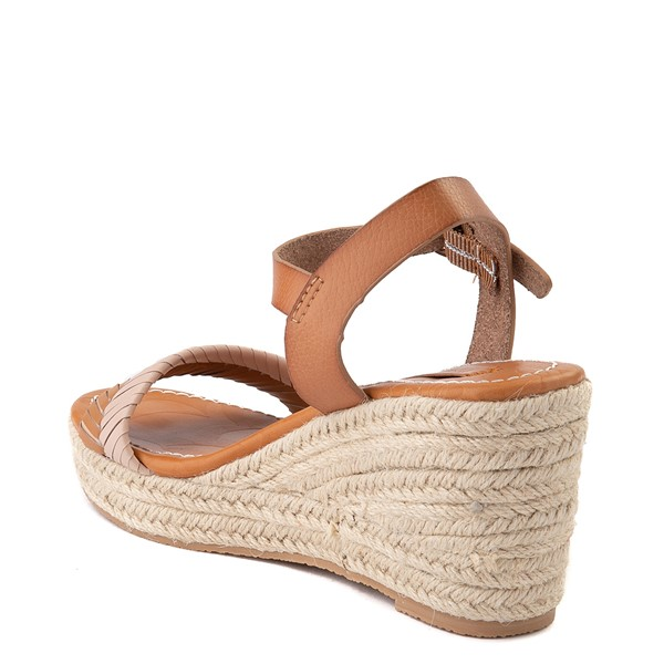 alternate view Womens Roxy Gabrielle Wedge Sandal - TanALT2