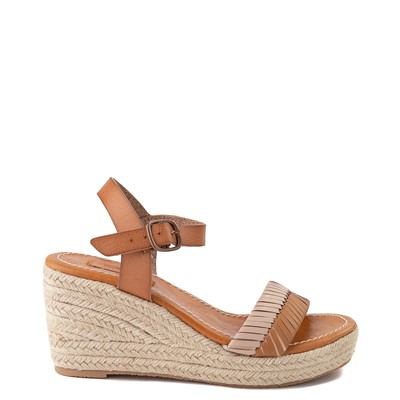 Main view of Womens Roxy Gabrielle Wedge Sandal - Tan