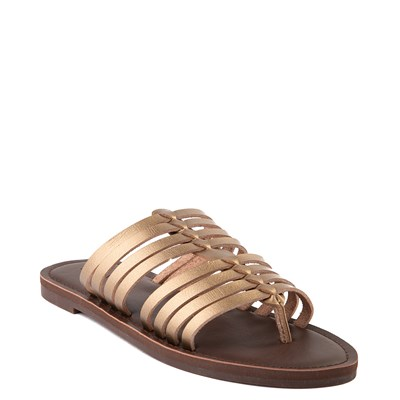 Alternate view of Womens Roxy Tia Sandal - Bronze