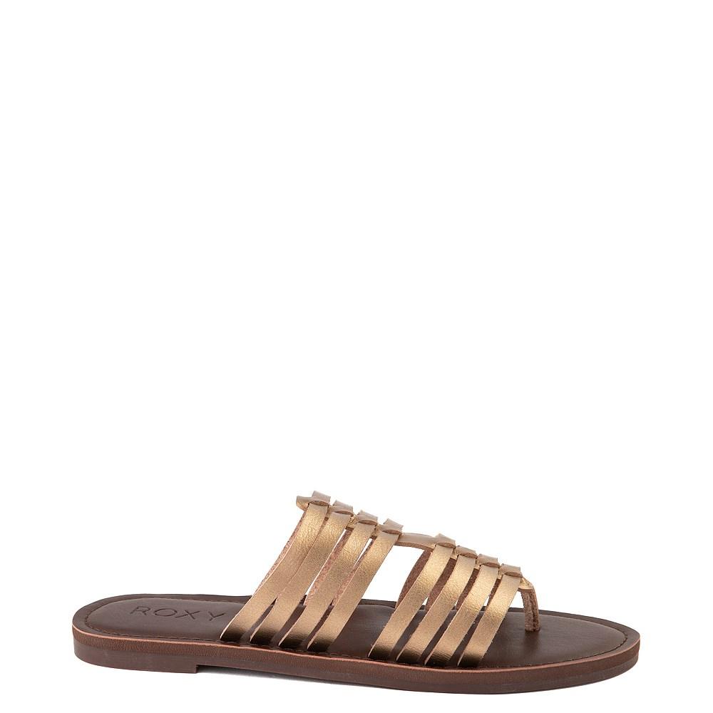 Womens Roxy Tia Sandal - Bronze