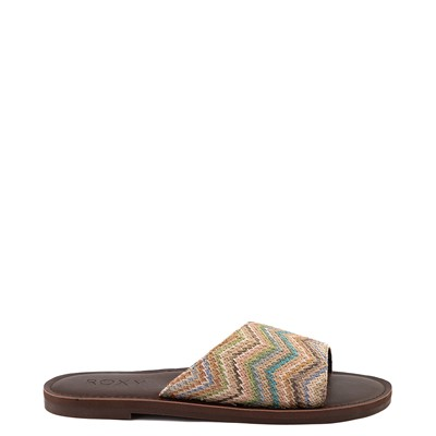 Main view of Womens Roxy Helena Slide Sandal - Multi