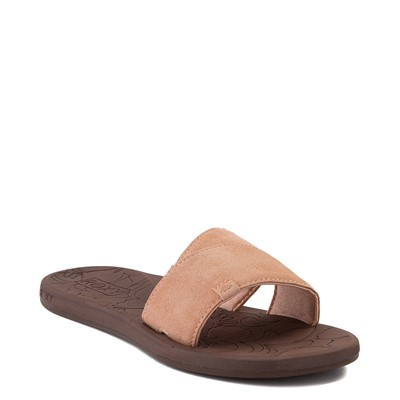 Alternate view of Womens Roxy Yvonne Slide Sandal - Blush