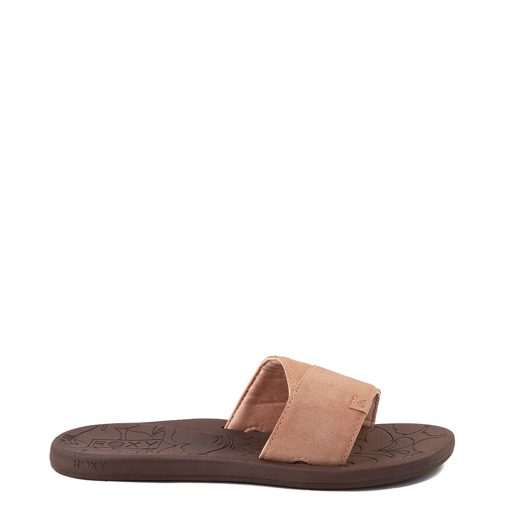 Womens Roxy Yvonne Slide Sandal - Blush