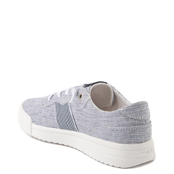 alternate view Womens Roxy Cannon Casual Shoe - NavyALT2