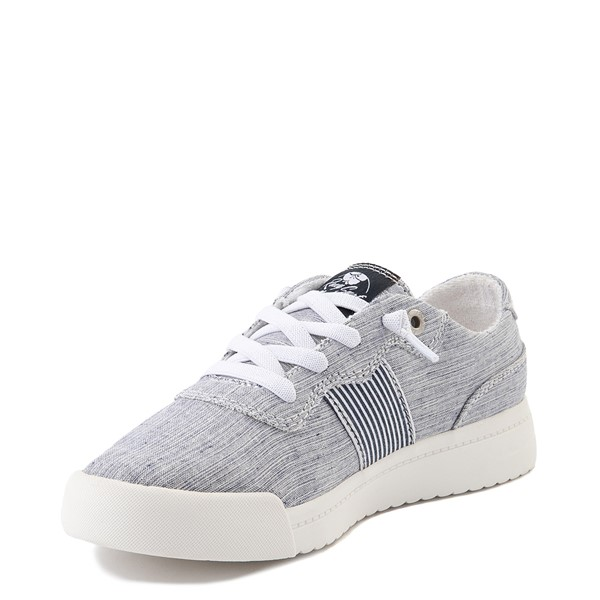 alternate view Womens Roxy Cannon Casual Shoe - NavyALT3