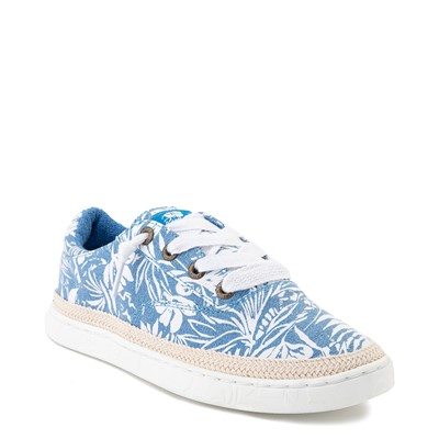 Alternate view of Womens Roxy Talon Slip On Casual Shoe - Floral Blue