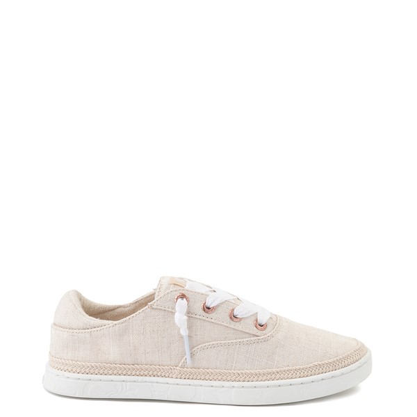 Main view of Womens Roxy Talon Slip On Casual Shoe - Natural