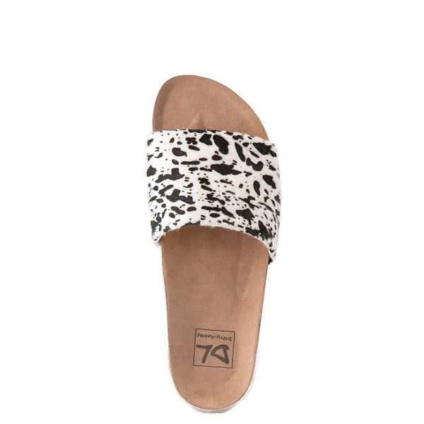 alternate view Womens Dirty Laundry Pippa Platform Slide Sandal - CreamALT4B