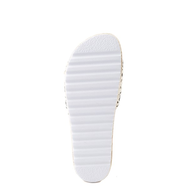 alternate view Womens Dirty Laundry Pippa Platform Slide Sandal - CreamALT5