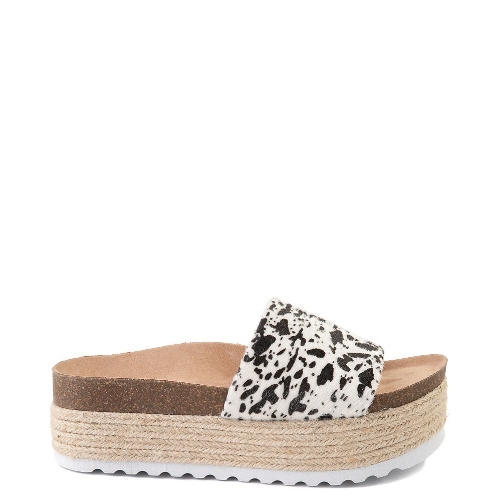 Womens Dirty Laundry Pippa Platform Slide Sandal - Cream
