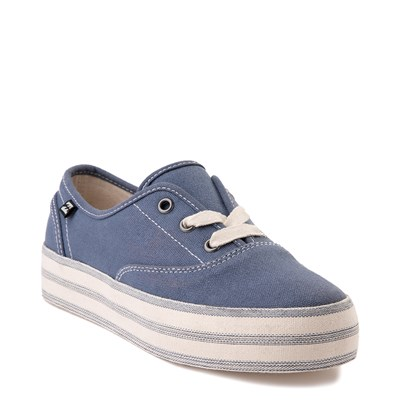 Alternate view of Womens Billabong Spring Tide Platform Casual Shoe - Indigo