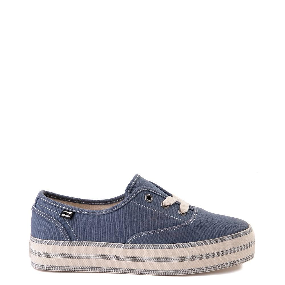 Womens Billabong Spring Tide Platform Casual Shoe - Indigo