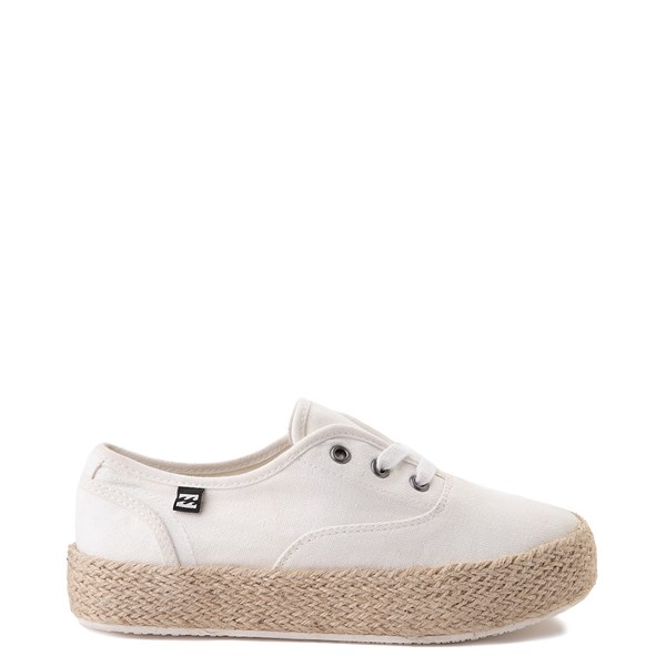 Womens Billabong Spring Tide Platform Casual Shoe - White