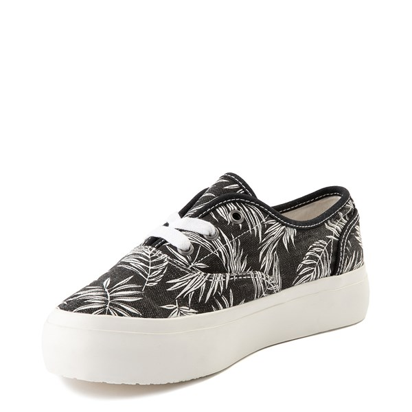 alternate view Womens Billabong Coastlines Platform Casual Shoe - BlackALT3