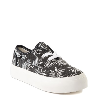 Alternate view of Womens Billabong Coastlines Platform Casual Shoe - Black
