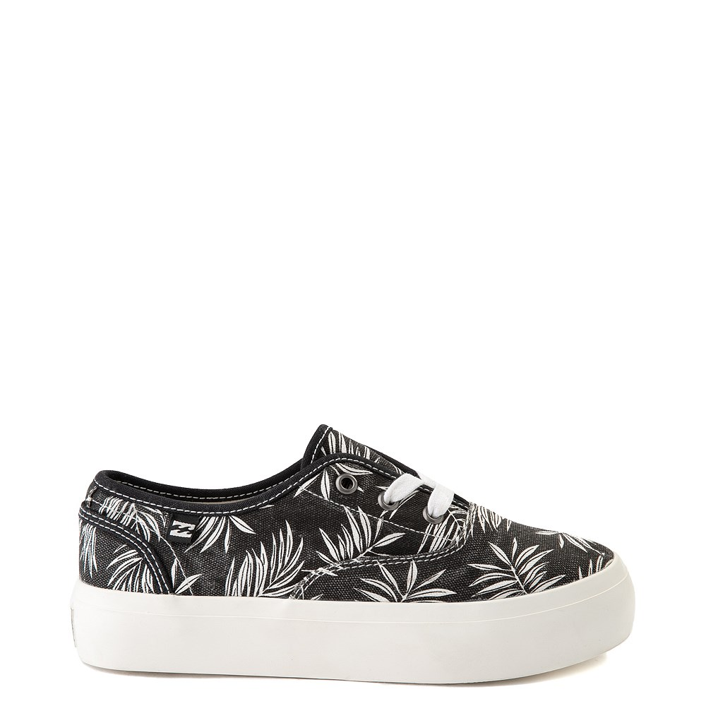 Womens Billabong Coastlines Platform Casual Shoe - Black