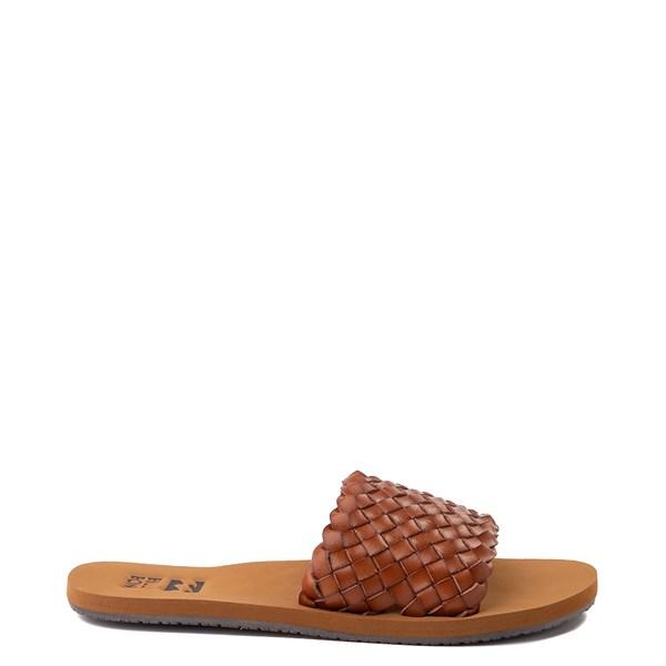 Womens Billabong One Way Slide Sandal - Tan