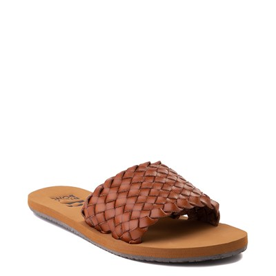 Alternate view of Womens Billabong One Way Slide Sandal - Tan