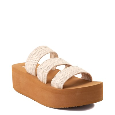 Alternate view of Womens Billabong Seabound Platform Sandal - Natural