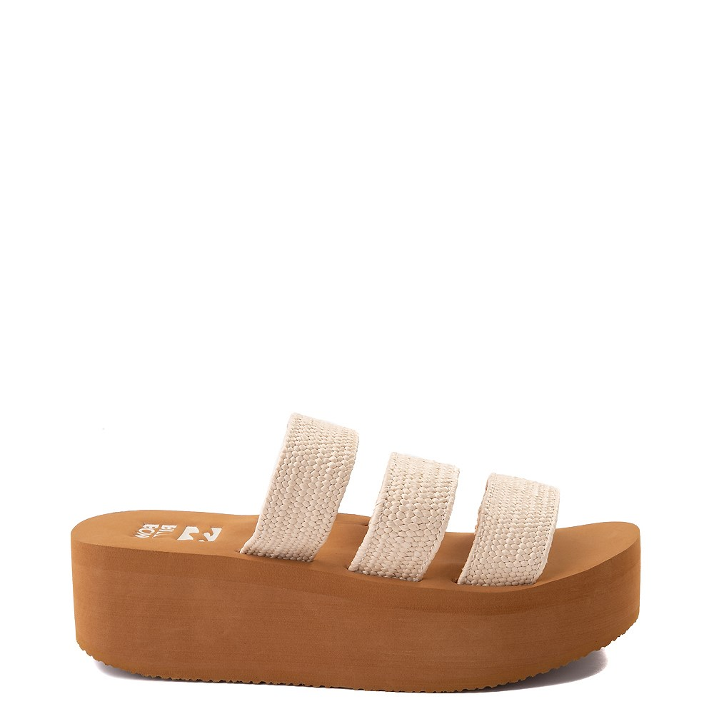 Womens Billabong Seabound Platform Sandal - Natural