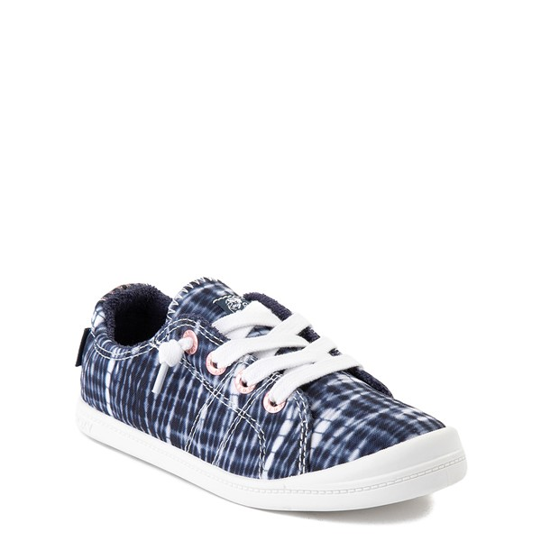 alternate view Roxy Bayshore Shibori Casual Shoe - Little Kid / Big Kid - Navy Tie DyeALT1