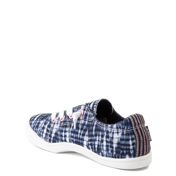 alternate view Roxy Bayshore Shibori Casual Shoe - Little Kid / Big Kid - Navy Tie DyeALT2