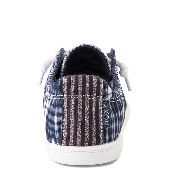 alternate view Roxy Bayshore Shibori Casual Shoe - Little Kid / Big Kid - Navy Tie DyeALT2B