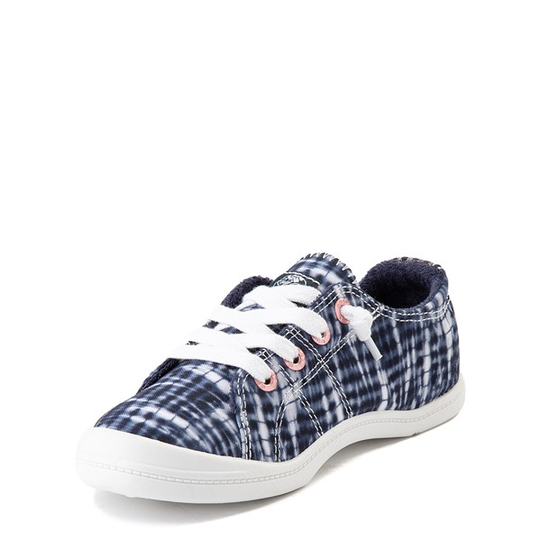 alternate view Roxy Bayshore Shibori Casual Shoe - Little Kid / Big Kid - Navy Tie DyeALT3