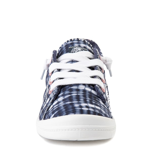 alternate view Roxy Bayshore Shibori Casual Shoe - Little Kid / Big Kid - Navy Tie DyeALT4