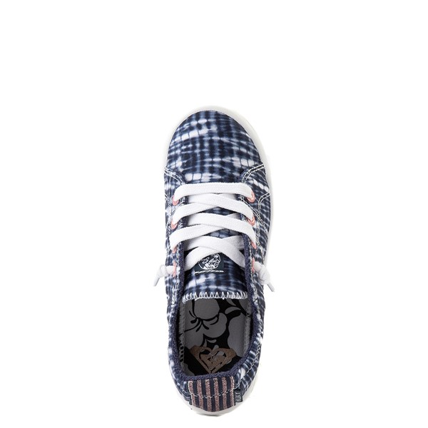 alternate view Roxy Bayshore Shibori Casual Shoe - Little Kid / Big Kid - Navy Tie DyeALT4B
