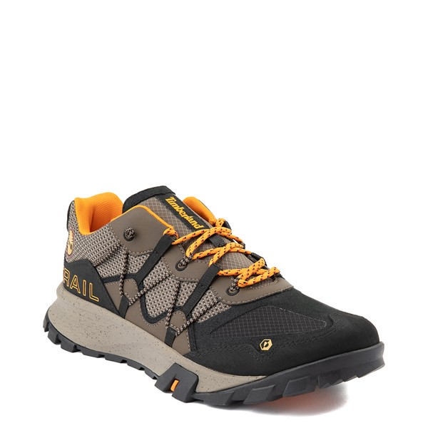 alternate view Mens Timberland Garrison Trail Low Hiker Boot - Brown / BlackALT1