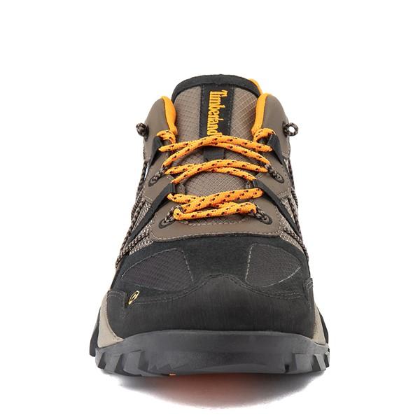 alternate view Mens Timberland Garrison Trail Low Hiker Boot - Brown / BlackALT4