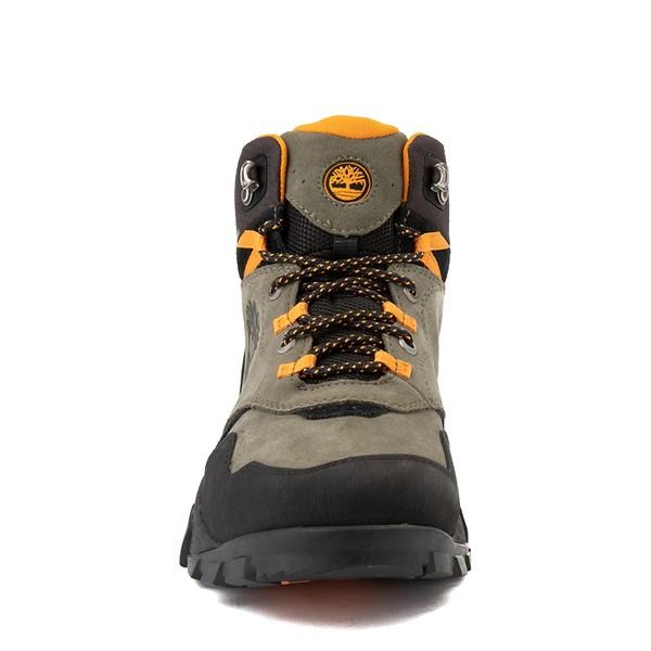 alternate view Mens Timberland Garrison Trail Mid Waterproof Hiker Boot - Dark GreenALT4