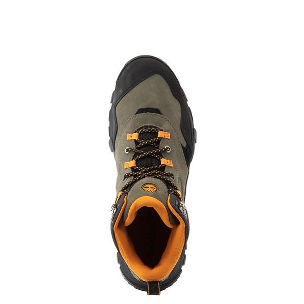 alternate view Mens Timberland Garrison Trail Mid Waterproof Hiker Boot - Dark GreenALT4B