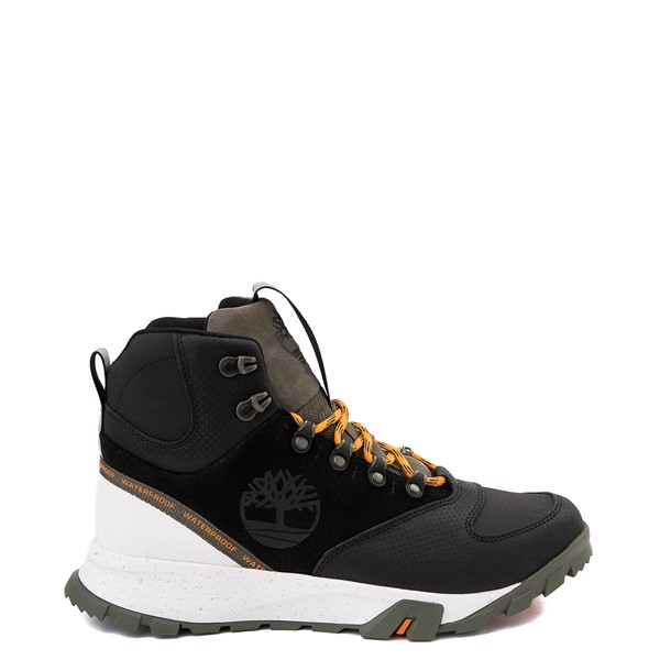 Main view of Mens Timberland Garrison Trail High Waterproof Hiker Boot - Black / Olive