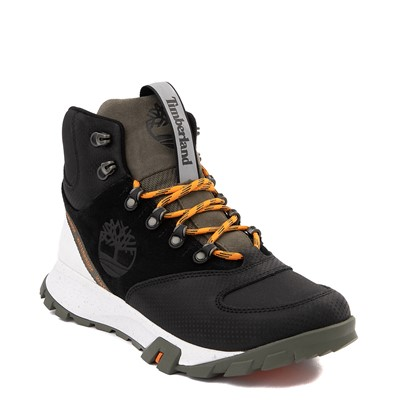 Alternate view of Mens Timberland Garrison Trail High Waterproof Hiker Boot - Black / Olive